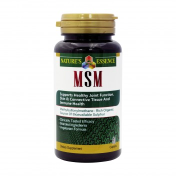 NATURE'S ESSENCE MSM 1000MG